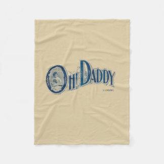 HAMbWG - Fleece Blanket - Oh Daddy!