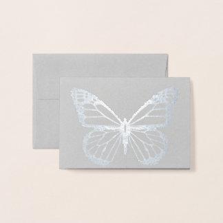 HAMbWG -  Foil Card - Butterfly Mini Note Card