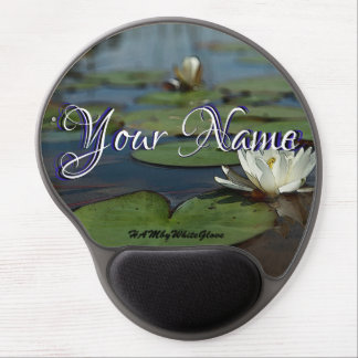 HAMbWG - Gel Mouse Pad - Water Lily