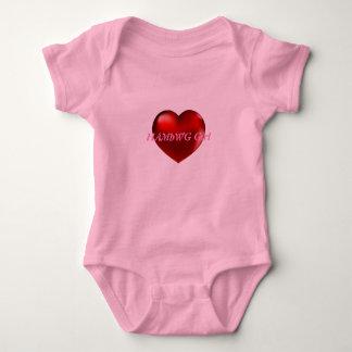 HAMbWG Girl - Heart T-Shirt or Snap T