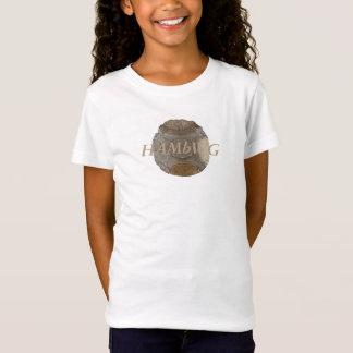 HAMbWG Girls' Bella Fitted Babydoll T-Shirt