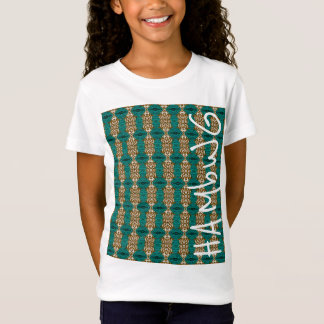 HAMbWG -  Girl's T Shirt  - Teal Olive
