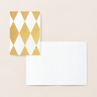 HAMbWG - Gold Foil Card -  Argyle