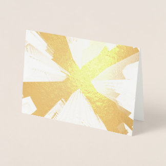 HAMbWG - Gold Foil Card - City Perspective
