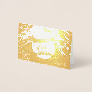 HAMbWG - Gold Foil Card - Official Ball
