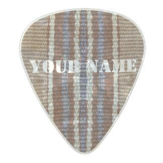 HAMbWG   Guitar Pics - Brown Bohemian Hipster Pearl Celluloid Guitar Pick