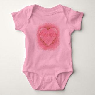 HAMbWG - Heart T-Shirt or Snap T - Pink Heart