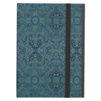 HAMbWG iPad  Case - Teal Persian