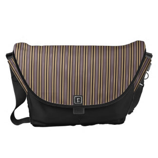 HAMbWG - Large Messenger Bag - Art Nouveau Stripe