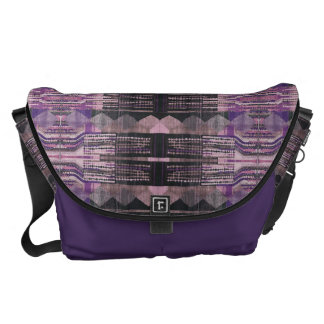 HAMbWG - Large Messenger Bag - Bohemian Purple