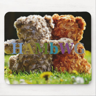 HAMbWG - Mouse Pad - Teddy Bear Buddies