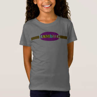 HAMbWG  Multi- Color Logo Banner T-Shirt