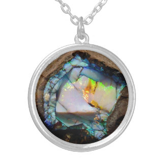 HAMbWG Natural Stone Illusion - Sterling Necklace