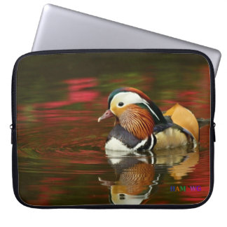 HAMbWG  -  Neoprene Laptop Sleeve - Baby Mallard