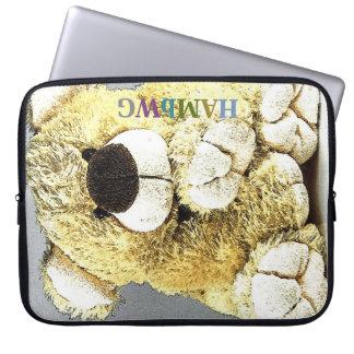 HAMbWG  -  Neoprene Laptop Sleeve - Big Teddy Bear