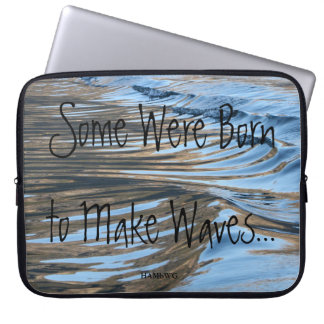 HAMbWG - Neoprene Laptop Sleeve - Makin' Waves