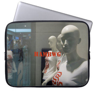 HAMbWG  -  Neoprene Laptop Sleeve - Mannequins