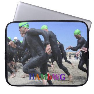 HAMbWG  -  Neoprene Laptop Sleeve - Triathlon