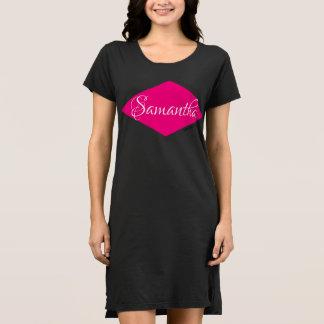 HAMbWG Night Dress - Pink Diamond Personalized