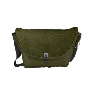 HAMbWG Olive Boho Design  Messenger Bag
