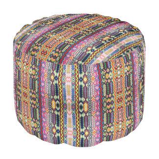 HAMbWG Pouf Chair - Colorful Bohemian