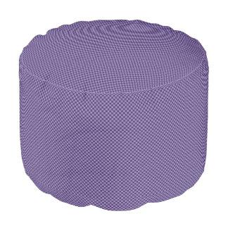 HAMbWG Pouf Chair - Purple Gingham