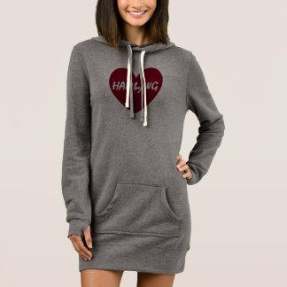HAMbWG - Red HAMbWG Logo Heart Dress