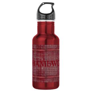 HAMbWG Red/Red Water Bottle (18 oz) 532 Ml Water Bottle