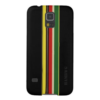 HAMbWG  - Samsung Cell Phone Case - Black w Color