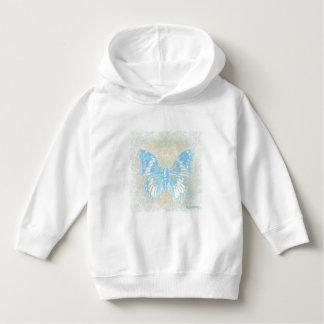 HAMbWG - Sweatshirt - Blue Butterfly