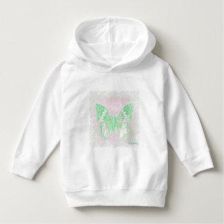 HAMbWG - Sweatshirt - Green Butterfly