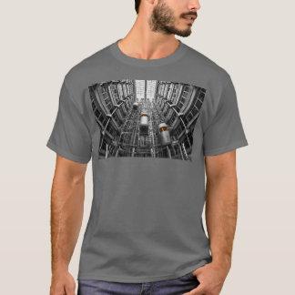 HAMbWG - T-Shirt - Architecture -  Elevators Lg