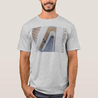 HAMbWG - T-Shirt - Architecture White Ornate Lg