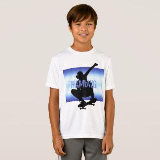 HAMbWG - T Shirt - Moonlight Skate Boarder