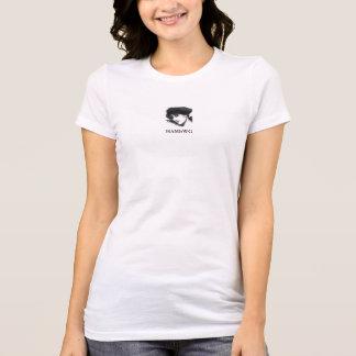 HAMbWG - T-Shirts - HAMbWG B W Face w  Logo 10