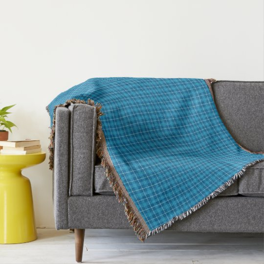 HAMbWG Throw Blanket - L. Blue Plaid