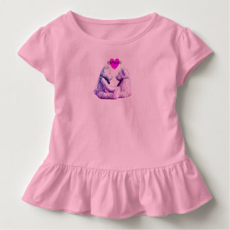HAMbWG - Toddler Dress - Teddy Bear Love