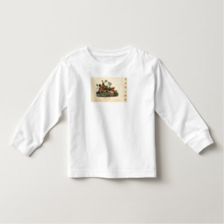 HAMbWG Toddler Turtle Dove - Long Sleeve T-Shirt