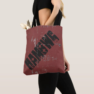 HAMbWG - Tote Bag - Black/Red Reverse