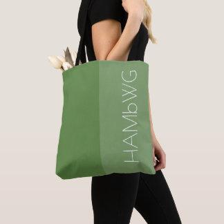 HAMbWG - Tote Bag- Jade/Jade w HAMbWG Logo