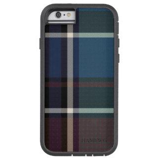 HAMbWG  Tough Xtreme Phone Case - Blue Plaid