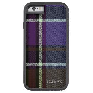 HAMbWG  Tough Xtreme Phone Case - Purple Plaid