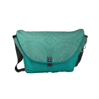 HAMbWG Turquoise Boho Design  Messenger Bag