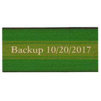 HAMbWG - USB Flash Drive - Green Gradient