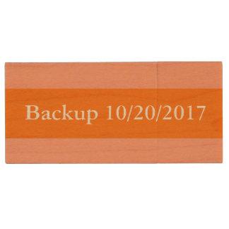 HAMbWG - USB Flash Drive - Two-Tone Orange
