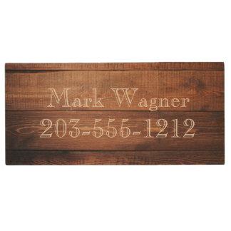 HAMbWG - USB Flash Drive - Wood Image