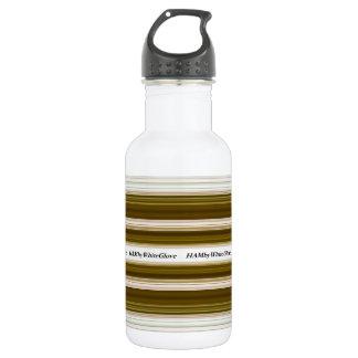 HAMbWG - Water Bottle - Olive  & White