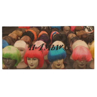 HAMbWG - Wigs - USB Wooden Flash Drive - Choose GB