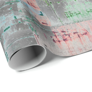 HAMbWG - Wrapping Paper - Gray Distressed
