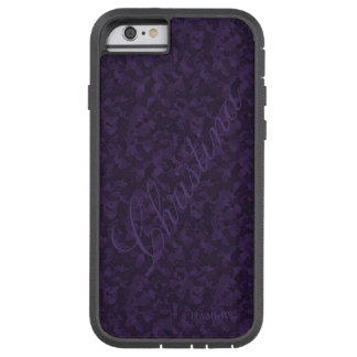 HAMbWG  Xtreme Phone Case - Deep Purple Camouflage